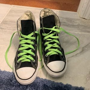 Back Converse High Tops